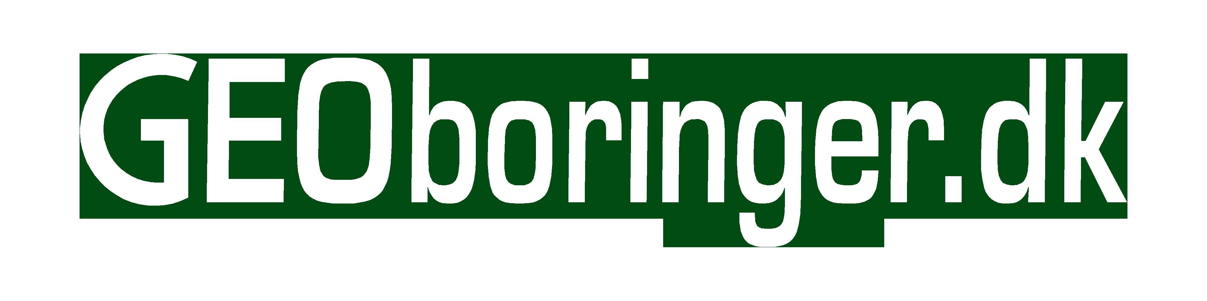 Geoboringer logo